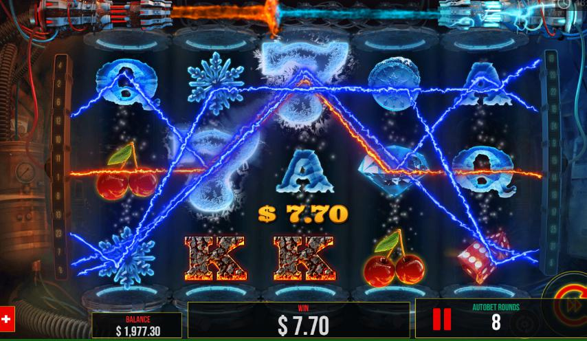 fire vs ice slot